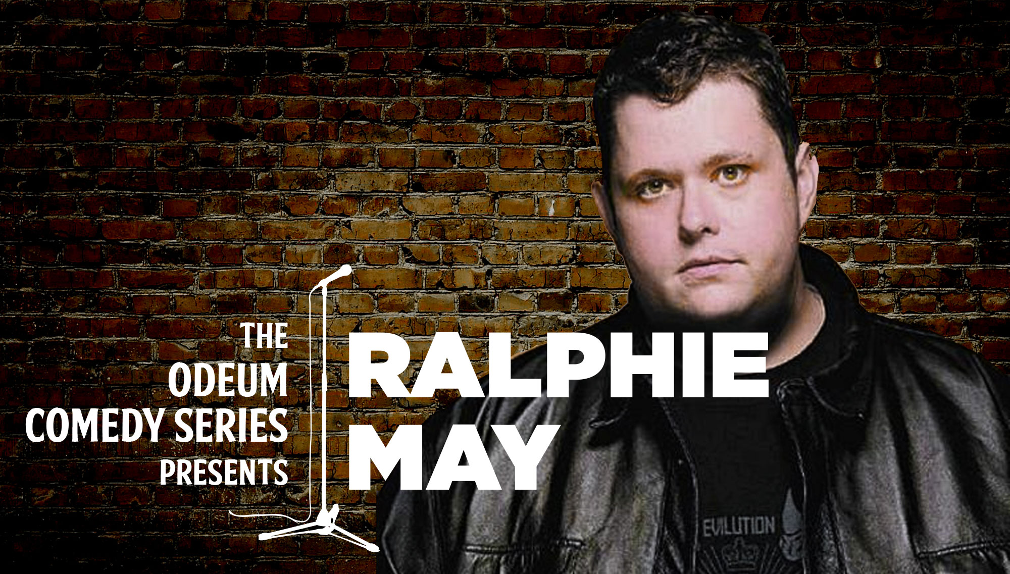 ODEUM COMEDY: RALPHIE MAY<h5>March 26</h5>