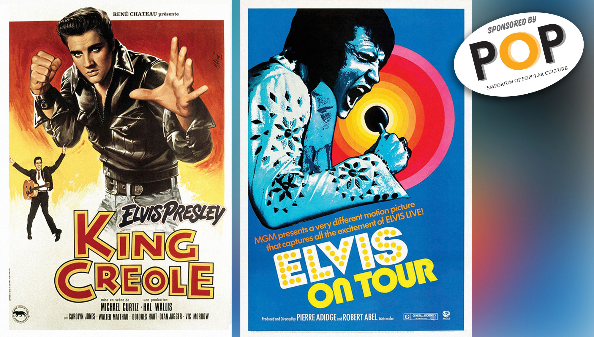 HUNKA HUNKA DOUBLE FEATURE  <h6>Sponsored by POP, The Emporium of Popular Culture  </h6><H5>August 16  </h5>