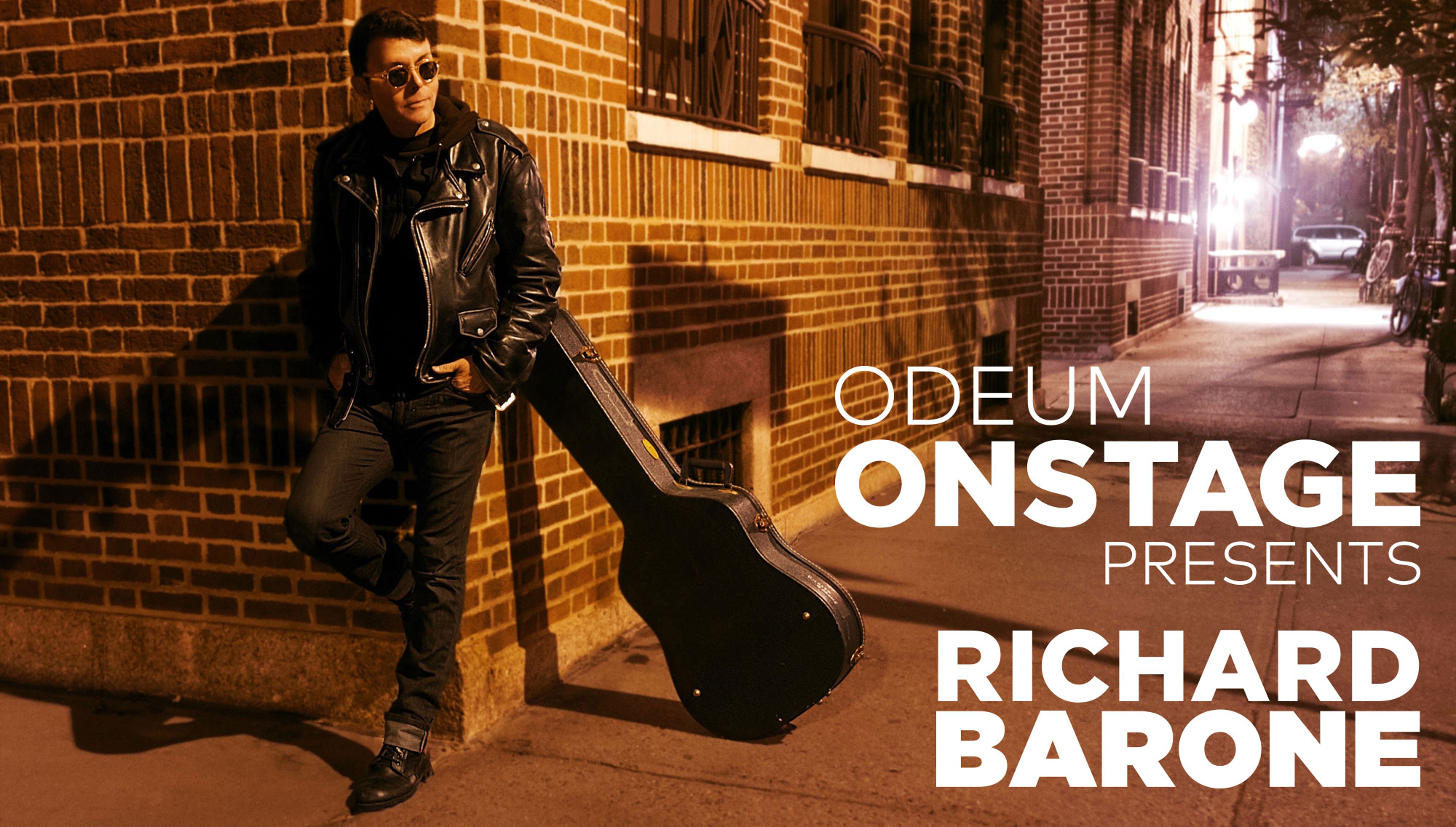 ODEUM ONSTAGE PRESENTS: RICHARD BARONE   <h5>with special guest Tyler-James Kelly of The Silks  </h5><h5>December 7  </h5>