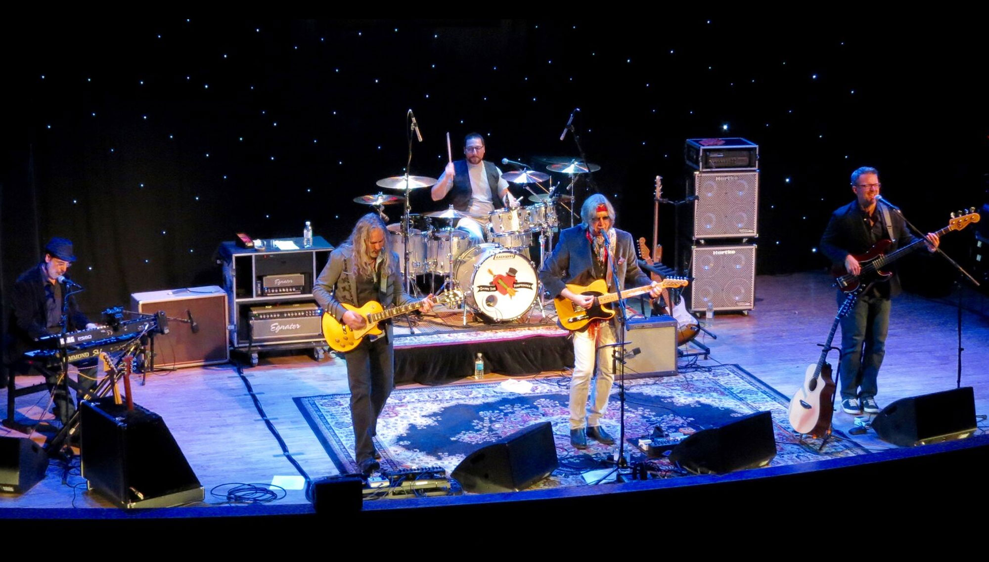 DAMN THE TORPEDOES : A TOM PETTY TRIBUTE  <H5>June 16  </h5>