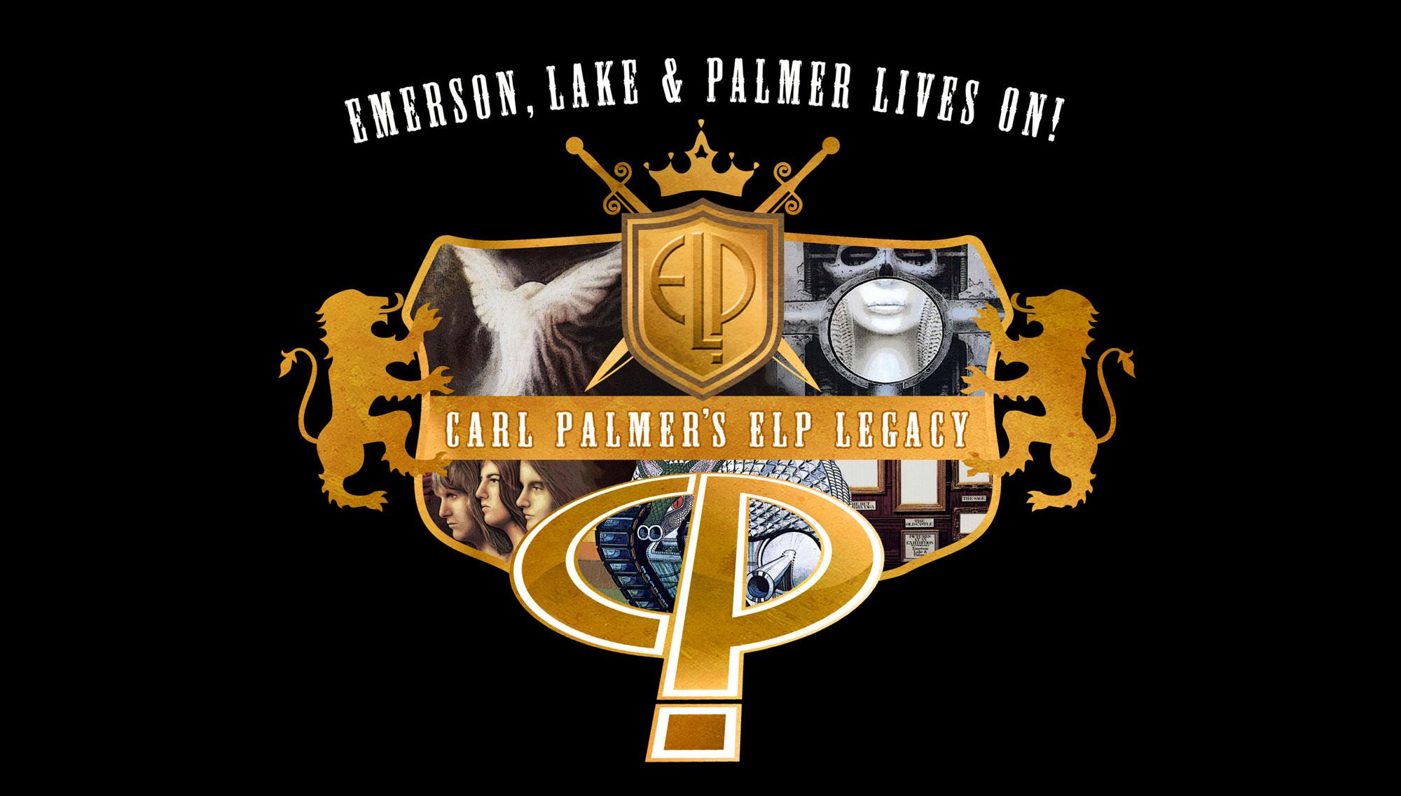 CARL PALMER'S ELP LEGACY  <H5>Emerson, Lake and Palmer Lives On Tour  </h5><h5>April 19  </h5>